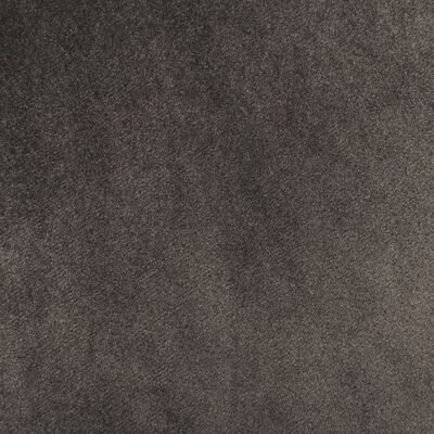 vidaXL spisebordsstole 4 stk. fløjl mørkegrå