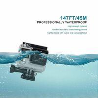 Vandtæt shell - kamerahus til GoPro Hero4 / 3+ / 3 gennemsigtig