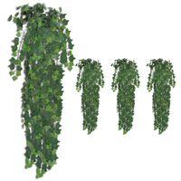 vidaXL kunstige vedbendplanter 4 stk. 90 cm grøn