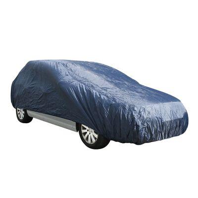 ProPlus bilovertræk M 432 x 165 x 119 cm mørkeblå