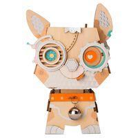 Robotime byggesæt Puppy blomsterkrukke