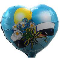 DUGA Studentfolieballon 45cm ballonhjerte