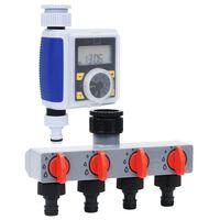 vidaXL digital vandingstimer med enkelt udløb og vandfordeler