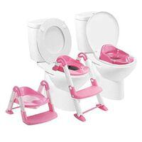 BABYLOO 3-i-1 toiletsæde til pottetræning pink