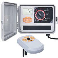 vidaXL kontrolenhed til vandingssystem med fugtsensor