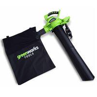 Greenworks blæser/suger uden 40 V-batteri GD40BV 24227