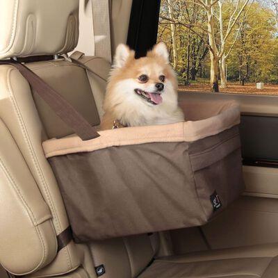 Happy Ride bilsæde til hunde Tagalong L brun