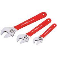 Draper Tools Redline justerbart skiftenøglesæt 3 stk. 67634