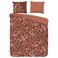 Good Morning sengetøj HAZEL 135x200 cm terrakotta brun