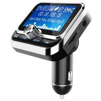 Bluetooth FM-sender og biloplader med dobbelt USB 2.4V