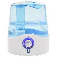 vidaXL ultrasonisk luftfugter med kølig tåge & natlys 6 l 300 ml/t.