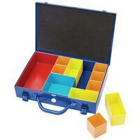 Draper Tools sorteringskasse 11 rum 32,9x22,5x6,5 cm blå