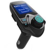 T11 FM-sender/MP3-afspiller med Bluetooth til bil