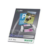 Leitz lamineringslommer 25 stk. ILAM 250 mikrometer A3
