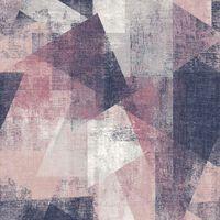 DUTCH WALLCOVERINGS tapet perspektiver pink og lilla