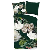Good Morning sengetøj LUUK 135x200 cm grøn