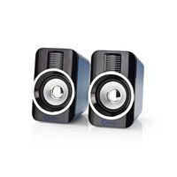 USB Gaming Højtaler Full Stereo 2.0