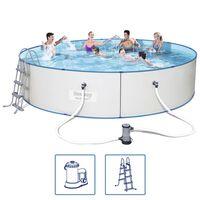Bestway Hydrium svømmebassinsæt 460x90 cm stålramme 56386