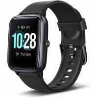 Sporty smartwatch med forskellige træningstilstande, hjerterytme, trin