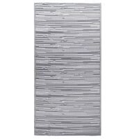 vidaXL udendørstæppe 160x230 cm PP grå