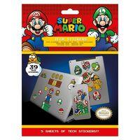 Super Mario - 39x Klistermærker