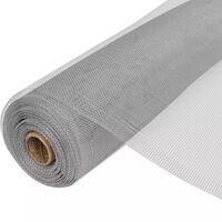 vidaXL net aluminium 100 x 1000 cm sølvfarvet