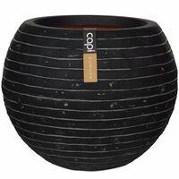 Capi krukke Nature Row kugleformet 40 x 32 cm antracitgrå KRWZ270
