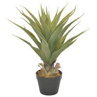 vidaXL kunstig plante yuccapalme med urtepotte  60 cm grøn