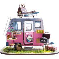 Robotime DIY-bilsæt miniatureformat Happy Camper