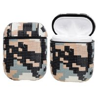 Airpods Taske - Camouflage I Pixelmønster