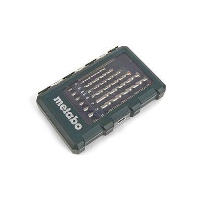 Metabo 8-deligt murbor i kassette 3 - 10 mm