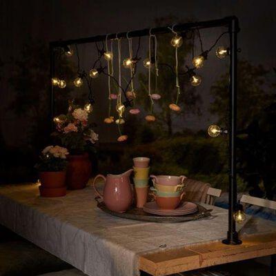 Luxform festlyskæde til haven Fiji med 10 LED'er