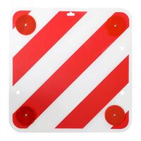 ProPlus Advarselstavle i plast 50 x 50 cm med reflekser 361228