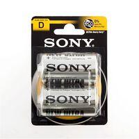 Sony Ultra Zink-Carbon-Batterier C R14 1,5V (pakke med 2)