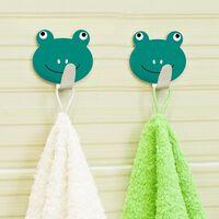 Tatkraft, Frogs - Selvklæbende Knager, 2-pack