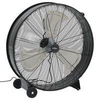 vidaXL industriel ventilator 77 cm 180W sort