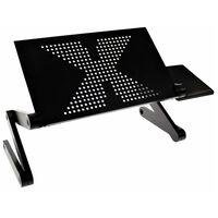 United Entertainment multifunktionelt laptop-stativ sort