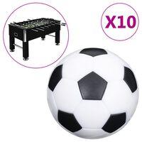 vidaXL bolde til bordfodbold 10 stk. 32 mm ABS