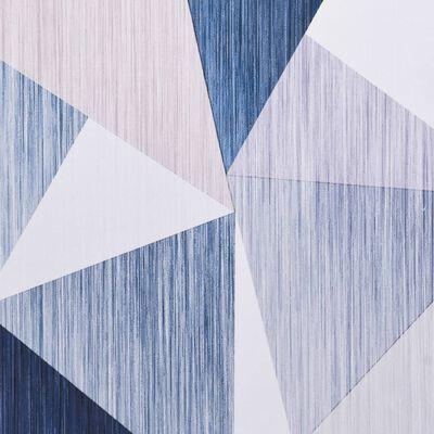 vidaXL gulvtæppe med tryk 120x160 cm stof flerfarvet