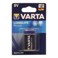 Alkaline Batteri Varta 9 V 580 mAh High Energy Blå