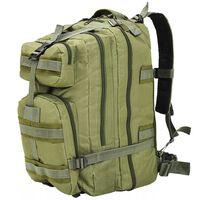 vidaXL rygsæk i militærstil 50 l olivengrøn