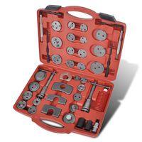 vidaXL værktøjssæt til tilbagepresning af bremsestempler 40 dele