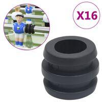 vidaXL stangstoppere til bordfodboldbord 15,9/16 mm stang 16 stk.