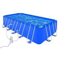 Svømmebassin med stålpumpe 540 x 270 x 122 cm