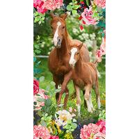 Good Morning badehåndklæde FOAL 75x150 cm flerfarvet