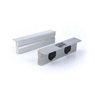 HBM 100 mm.topkæber af aluminium til skruestikken
