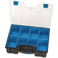 Draper Tools sorteringskasse 8 rum 41,5x33x11 cm sort