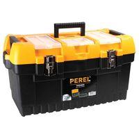 Perel værktøjskasse med metallåse 56,4 x 31 x 31 cm OM22M
