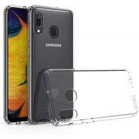 Gennemsigtig mobil shell til Samsung M30 / A40S