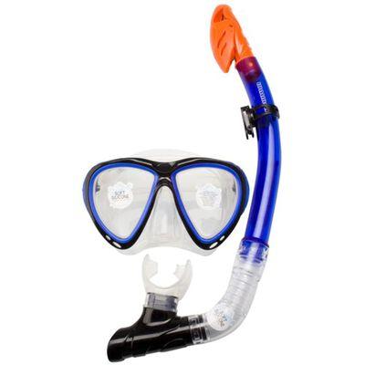 Waimea Senior Silikone Dykkermaske med Snorkel Koboltblå 88DJ